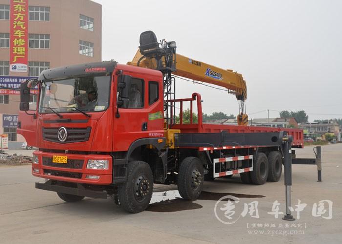 程力东风T5 12吨随车吊