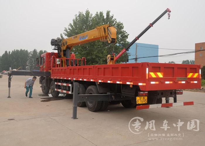 程力东风T5 16吨随车吊