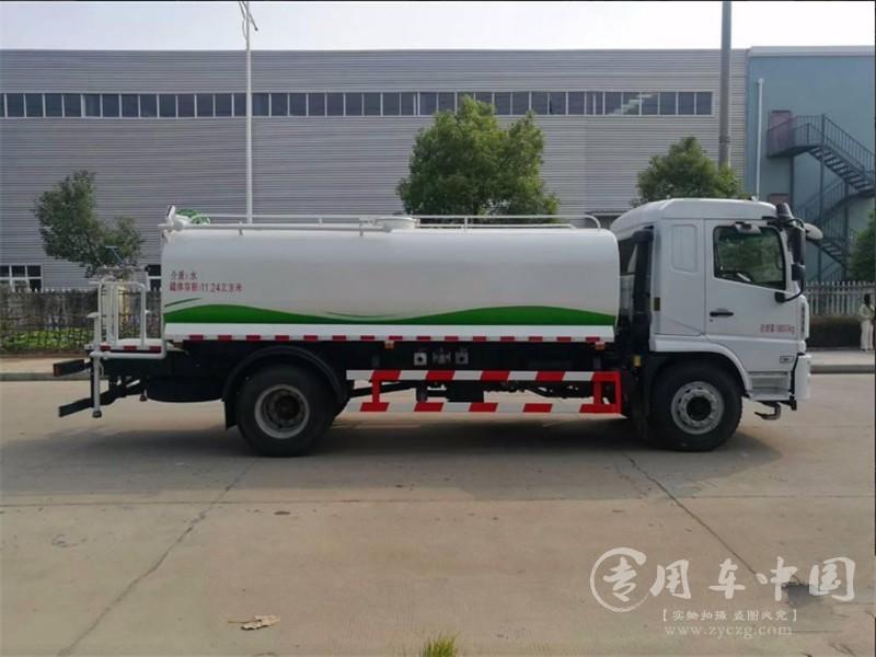 陕汽轩德10方洒水车图片
