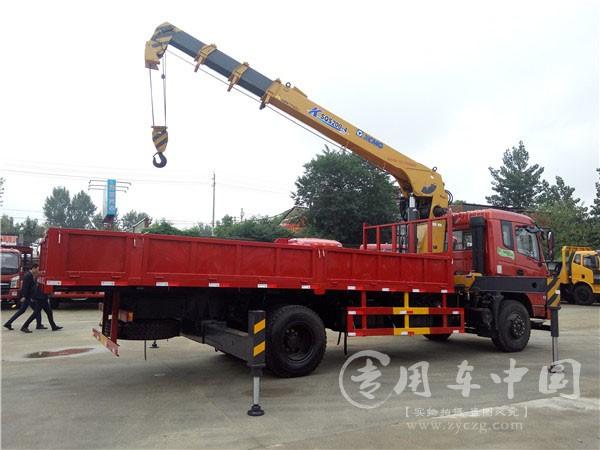 程力东风特商6.3吨随车吊
