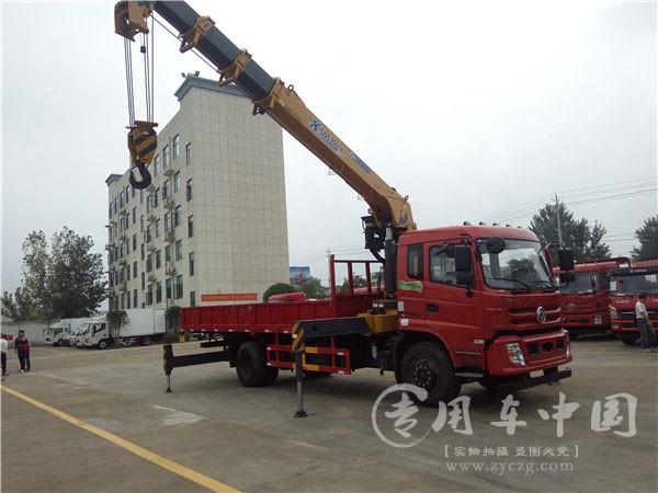 程力东风特商10吨随车吊