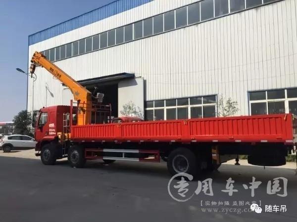 程力东风柳汽10吨随车吊