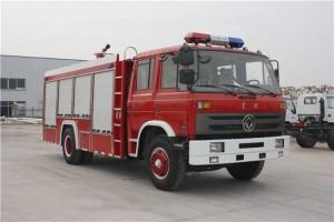 国五东风6吨泡沫消防车价格36.68万