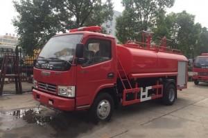 国五东风3吨消防洒水车价格