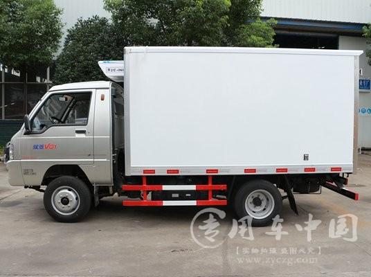程力福田驭菱2.9米冷藏车