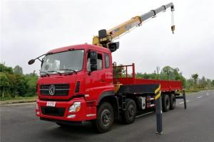 东风天龙前四后八徐工16吨随车吊车价格56.8