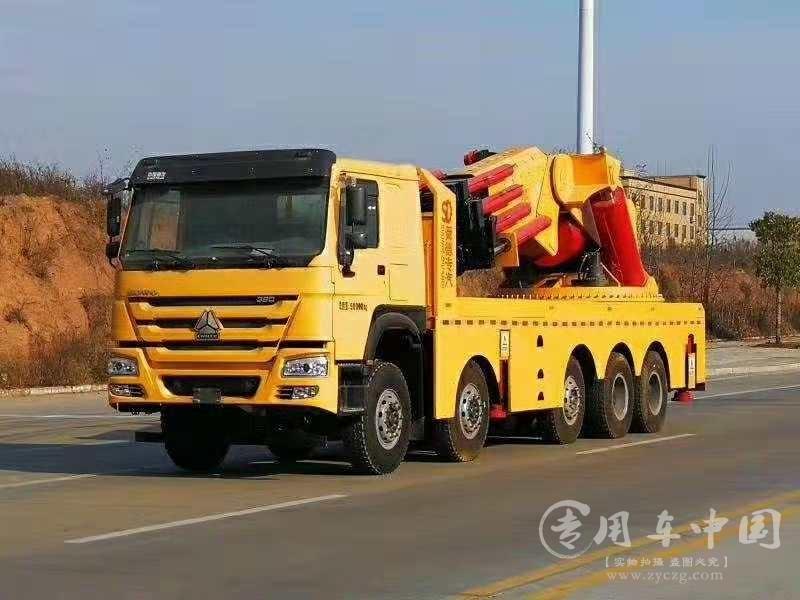 重汽豪沃150吨随车吊图片