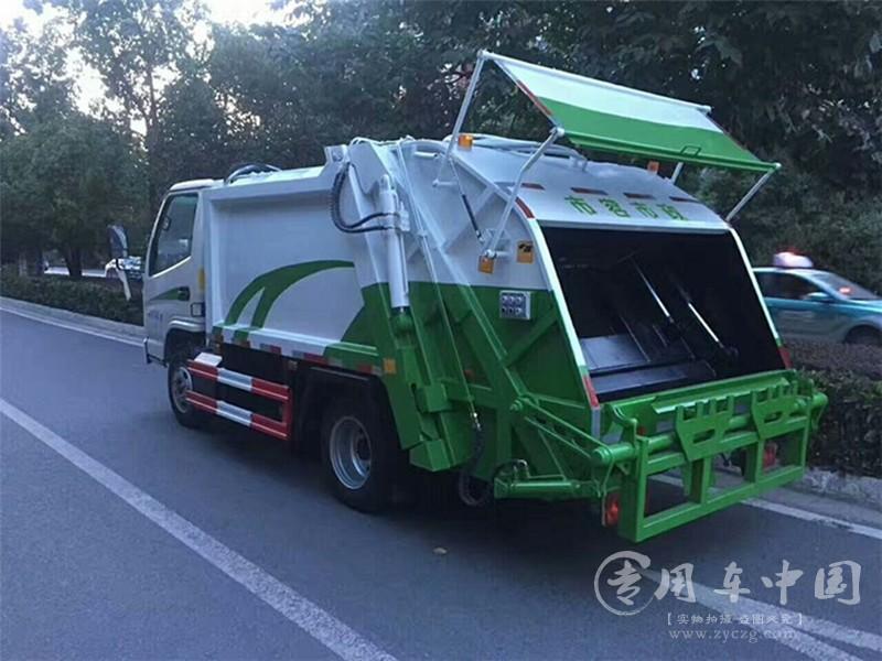 凯马3方压缩式垃圾凯马3方垃圾车图片车图片