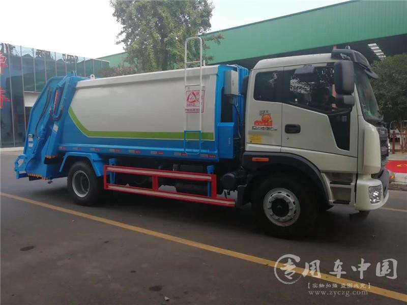 福田瑞沃压缩式垃圾车图片