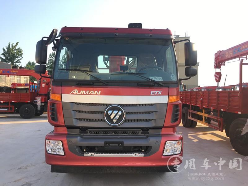 福田16吨随车吊图片