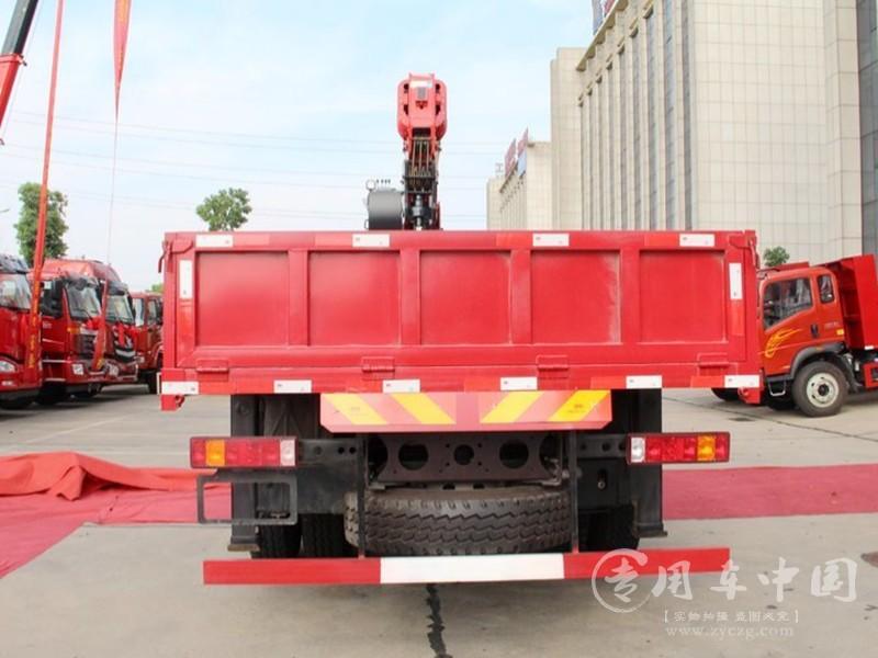 重汽豪曼16吨随车吊图片