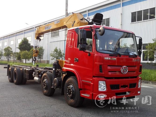 程力三环昊龙16吨徐工随车吊