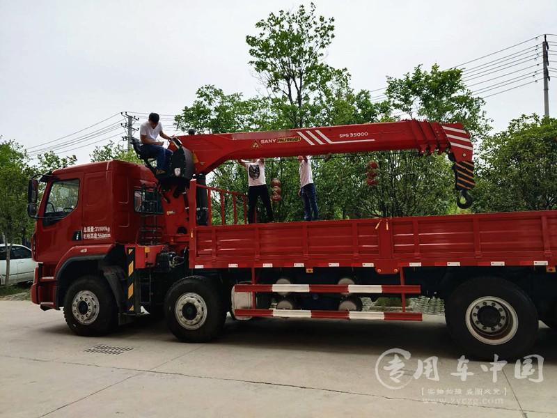 东风柳汽18吨随车吊图片