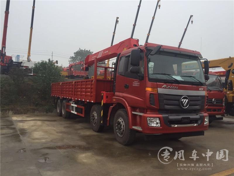 腾宇福田欧曼16吨随车吊