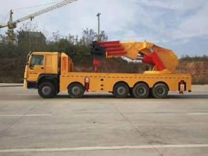 重汽豪沃150吨随车吊