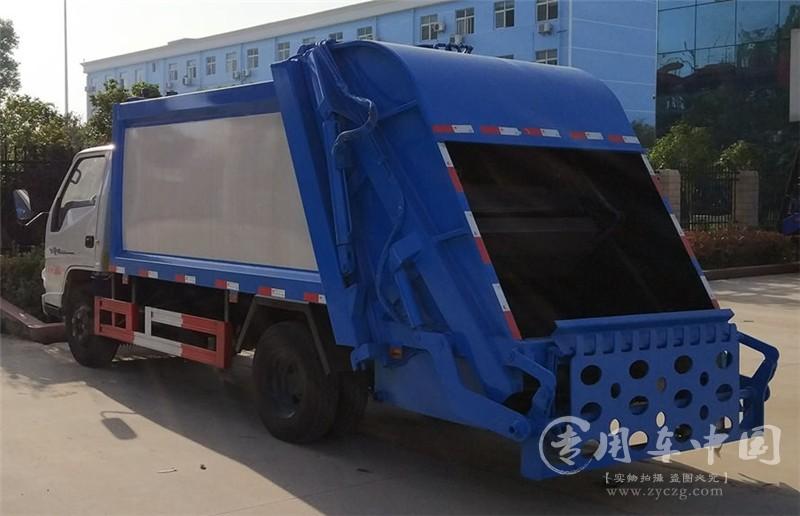 楚胜江铃顺达5方压缩式垃圾车