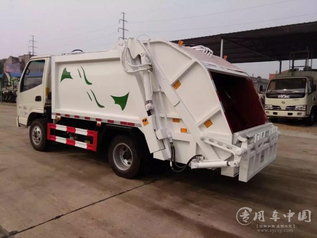 楚胜凯马5方压缩式垃圾车