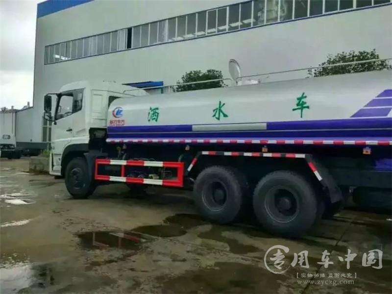 力威东风天龙22方洒水车图片