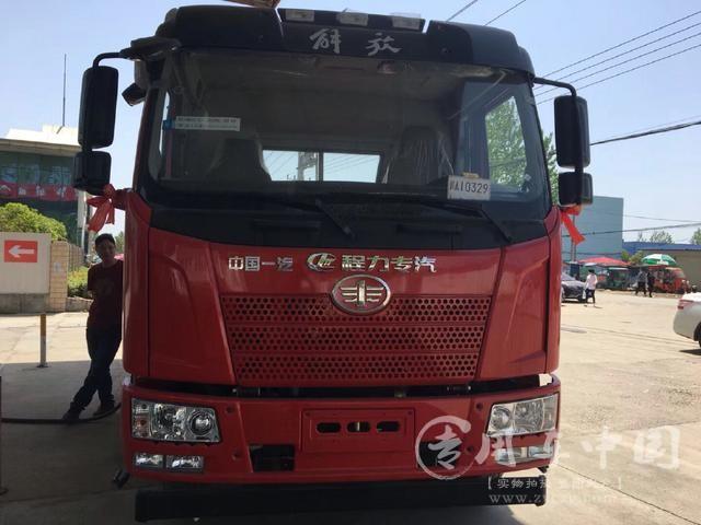 楚风解放J6 6米5平板车
