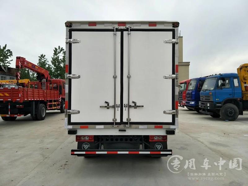 福田奥铃4米冷藏车图片