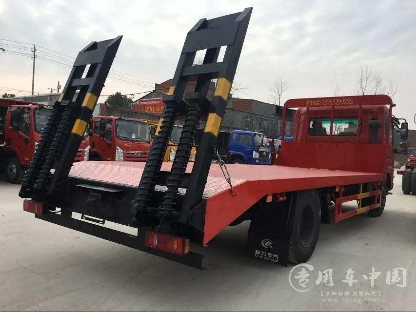 楚风东风天锦5米8平板运输车