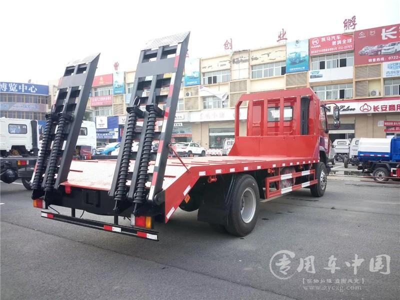 东风柳汽单桥平板车图片