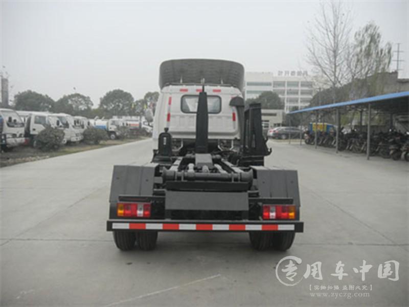 程力福田领航5方勾臂式垃圾车