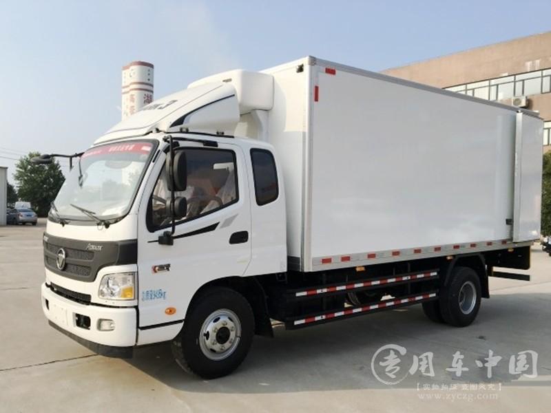 福田欧马可5米1冷藏车图片