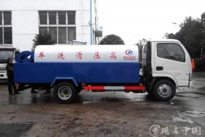 多功能高压清洗车带洒水功能