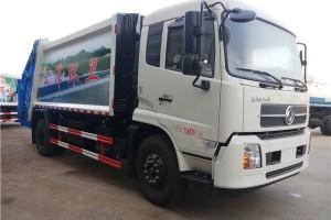贵州压缩式垃圾车成功发车