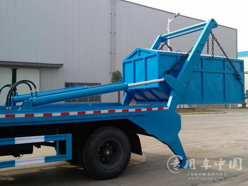 东风153 12方摆臂垃圾车图片