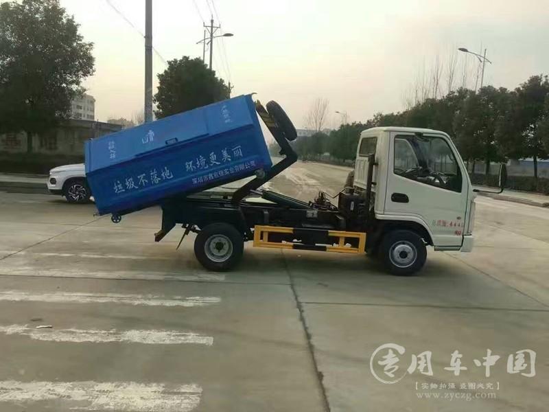 凯马5方勾臂式垃圾车图片