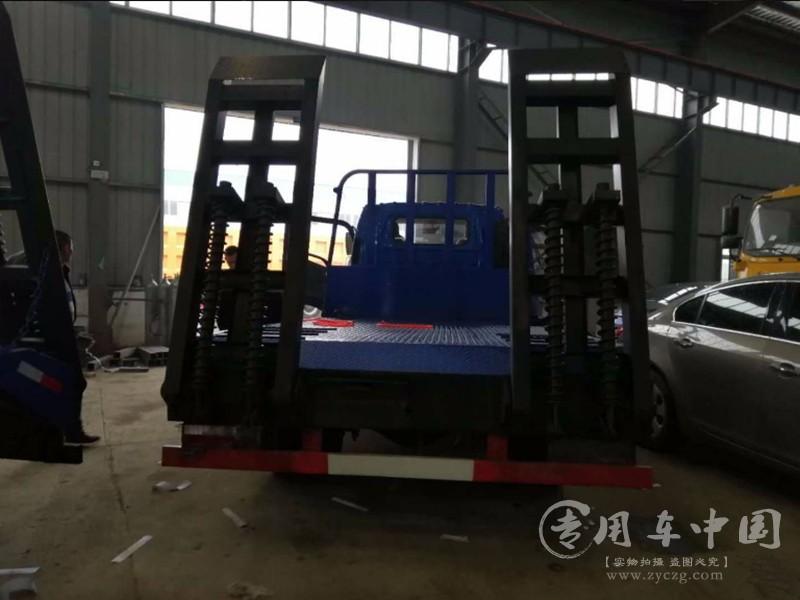 江淮骏铃蓝牌平板车图片
