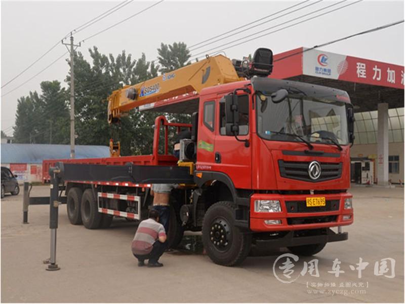 东风随车吊前四后八12吨指导价:¥32.9-57.6万