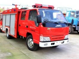 江铃2.5吨水罐消防车