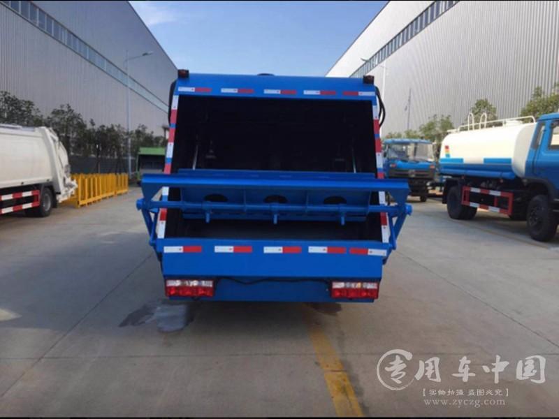 3方东风垃圾车图片