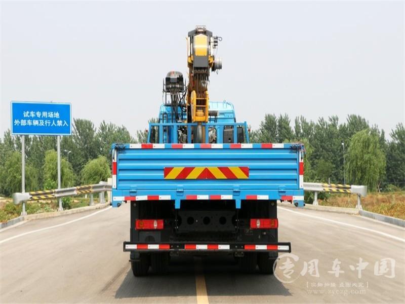 汉风14吨徐工随车吊图片