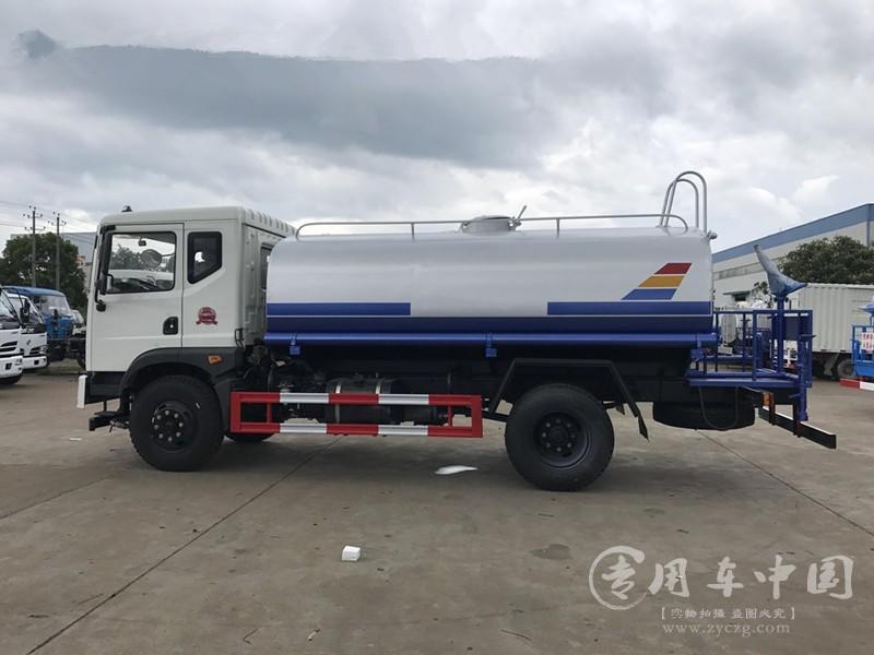 东风T3 12方绿化洒水车图片