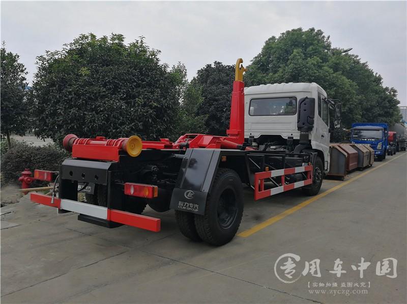 东风天锦10方环卫垃圾车图片