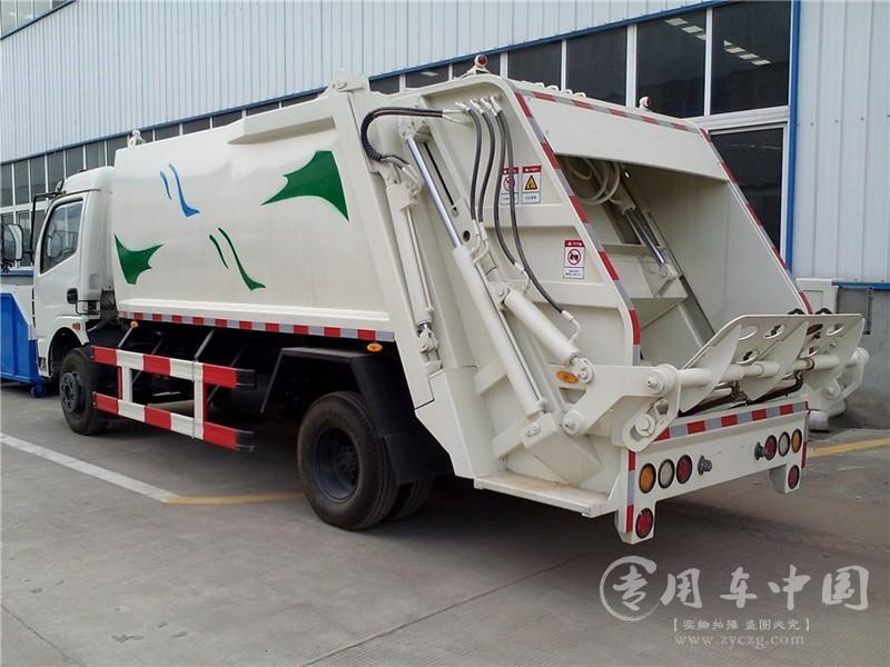 东风5方压缩垃圾车图片