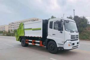 新款东风天锦12方压缩垃圾车配置介绍