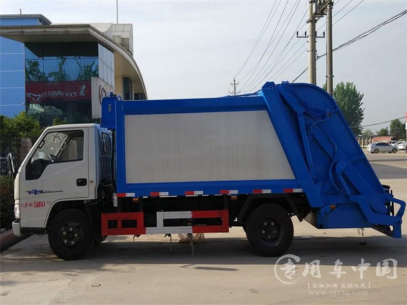 江铃4方环卫垃圾车图片