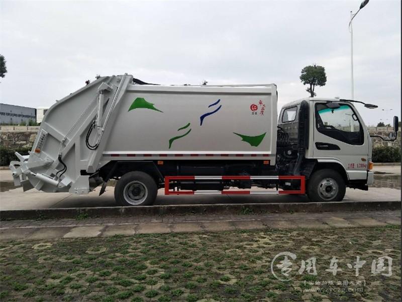 江淮骏铃6方压缩垃圾车图片