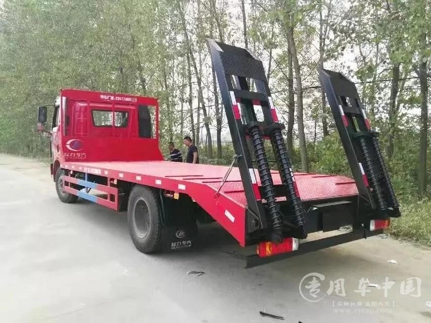 6米5解放平板车