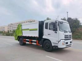 大力东风天锦12方压缩垃圾车