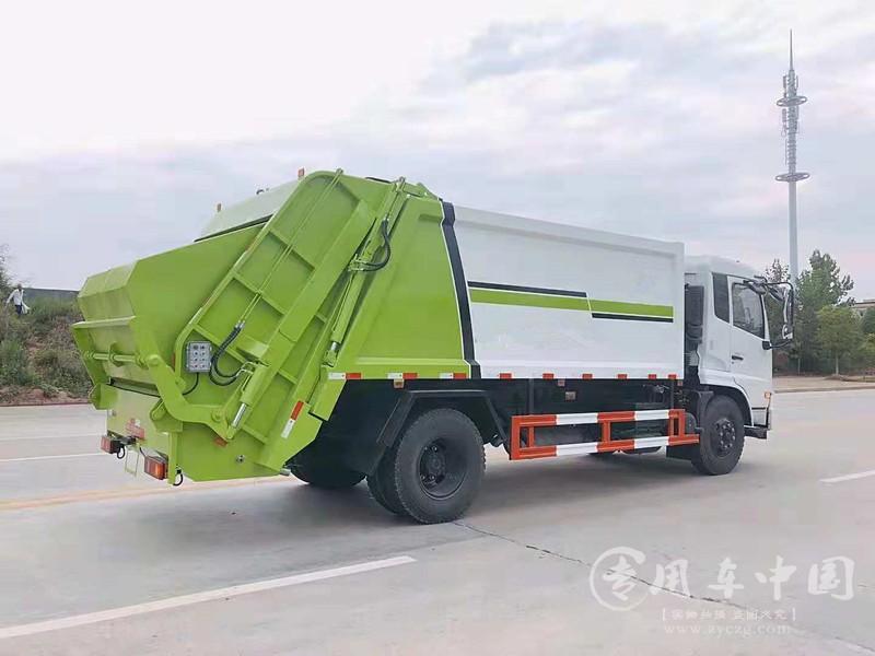 东风12方压缩垃圾车图片