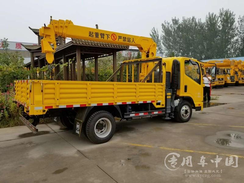 5吨随车吊厂家直销可以加长货箱
