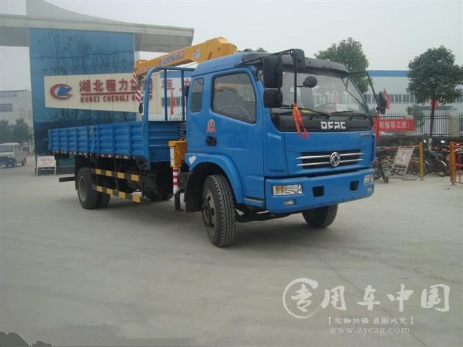 程力东风多利卡3.2吨随车吊