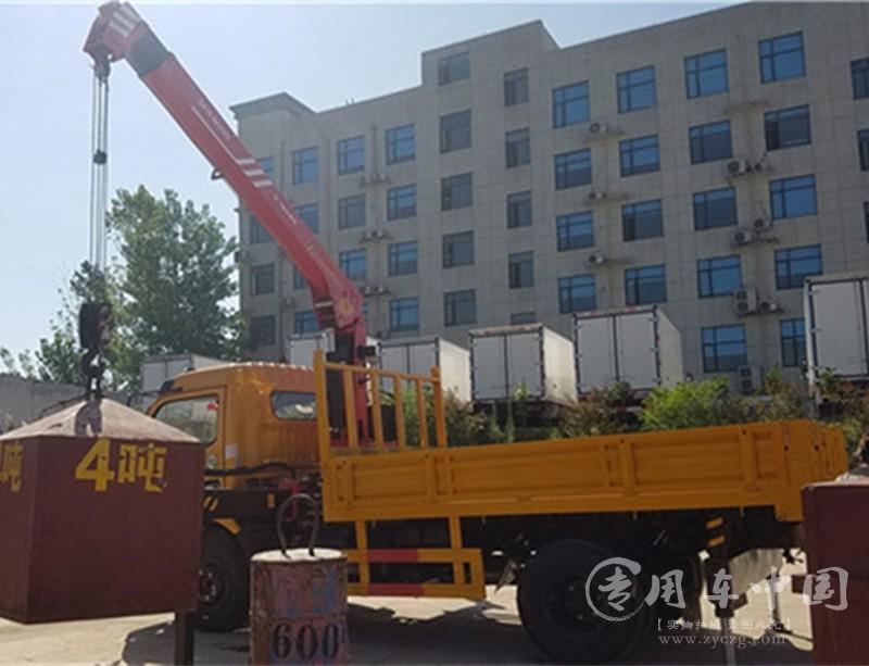 程力东风福瑞卡6.3吨随车吊