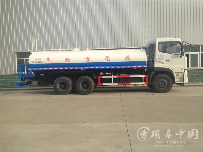 程力东风天龙18吨洒水车